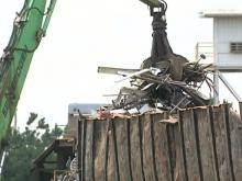 Clunkers keep scrap yards busy