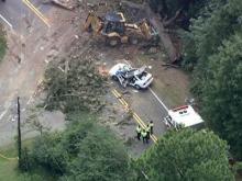 Man killed when tree falls on car in Garner