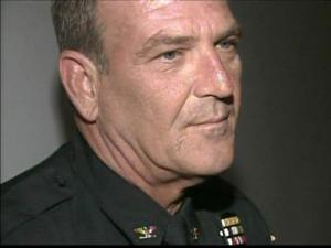 Fayetteville Assistant Police Chief Bill Simons retired on Aug. 28, 2009, after 32 years on the police force.