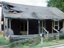 Lessie Smith's home in St. Pauls in 2006.