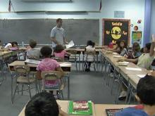 Class sizes grow after budget cuts