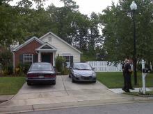 Agents comb through terror suspect's home