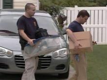 Feds remove items from Anes Subasic's house