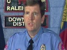 Raleigh police chief outlines shooting, standoff
