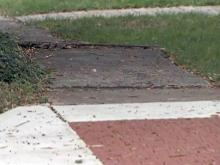 Advocates for disabled pan Durham sidewalks