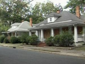 Healthy Start Academy is considering moving or tearing down homes, at 804 and 806 Jackson Street,  in Durham.