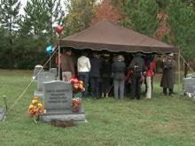 Memorial held for slain Wake County mother