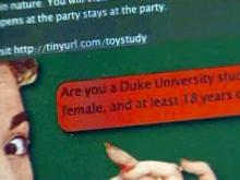 Should Duke students take part in sex toys study?