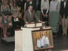 A Fayetteville church mourned the Maxwell family Friday afternoon.