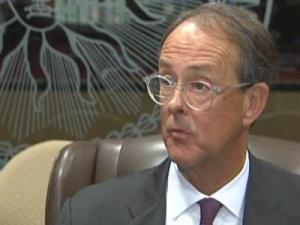 UNC System President Erskine Bowles wants the General Assembly to reconsider a mandated tuition hike for all students in which the additional revenue would go to help with the state's budget woes.