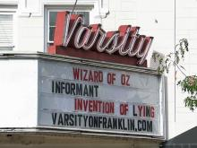 Varsity Theatre to reopen on holiday weekend