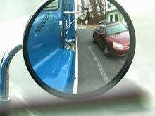 Be mindful of big rigs on the roadways