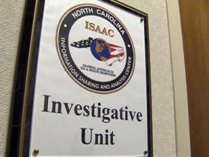 North Carolina's ISAAC, or Information Sharing and Analysis Center, is a partnership of federal, state and local agencies who gather, filter and share information to prevent terrorism.