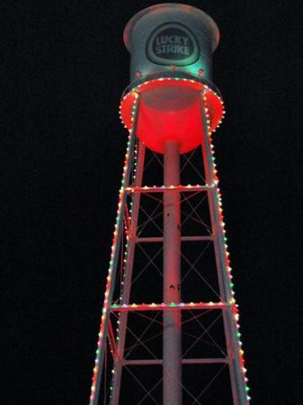 More than 1,300 people headed to the American Tobacco Campus in Durham on Dec. 4, 2009, for the annual lighting of the Lucky Strike Tower.