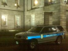 "A Durham man went on what police described as ""a Saturday night binge"" in the State Capitol building early Sunday, breaking windows, knocking over a Christmas tree and damaging an American flag and water cooler."