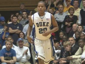 Duke University freshman shooting guard Andre Dawkins