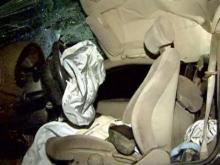 Troopers: Benson woman flees repo man, crashes