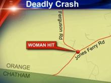 Woman killed when she stopped for cat