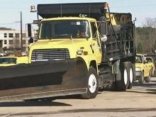 Roads being prepped for winter storm