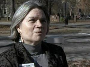 Vicky Smith, executive director of Disability Rights North Carolina, says mental health service cuts to two patients violates the federal Americans With Disabilities Act that allows for disabled people to live in their communities if they are able to do so.