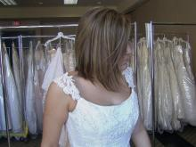 Brides-to-be buy gowns, help cancer patients