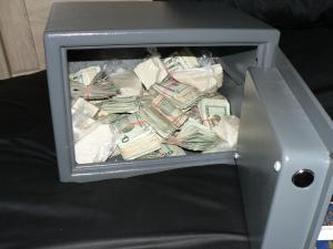 Organized Crime Drug Enforcement Task Force's Operation Northern Star seized cash, drugs and guns.