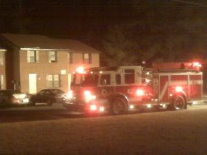 Emergency crews found a mother and her child dead after a fire at Redwood Village Apartments in Selma Wednesday morning, March 10, 2010.