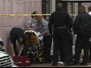 Durham police say a man was shot in the foot following an argument inside a District Court courtroom Thursday morning. The shooting happened outside the courthouse, they said.
