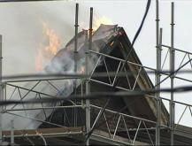 Worker accidentally set courthouse blaze