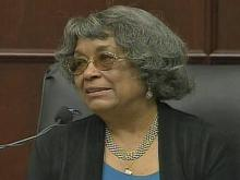 """After the April 27, 2007, shooting death of her son, Timothy Barnwell, and the subsequent death of her husband, Phyllis Barnwell, says she's relied on her church family to support her through the murder trial. """"I call them my 'Wall of Prayer,' she says."""
