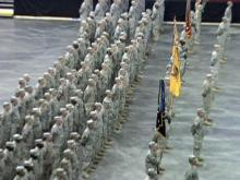 Homecoming ceremony held for National Guard