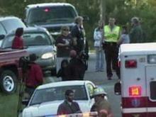 Students wreck near vigil for classmate