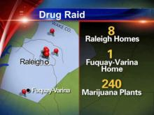 Five arrested for pot-growing operation
