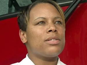 Captain Angelica Greene was recognized nationally for a fire safety program she developed for seniors and the disabled.