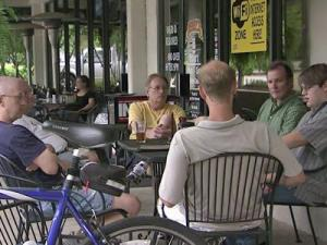 The Brotherhood of Unemployed Men (B.U.M.) meets every Tuesday in Cary.