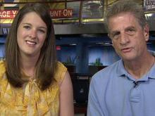 Survivor, donor's dad talk about heart transplant
