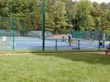 Lochmere Swim and Tennis Club in Cary (Courtesy of Jim Davis)