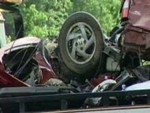 A Thomasville woman and an 11-year-old girl were killed on May 23, 2010, when their car collided with a Highway Patrol cruiser in Guilford County.