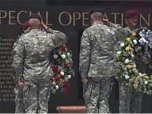 Special Ops soldiers honored at Fort Bragg