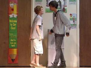 """""""The Bullying Stops Here,"""" by playwright Angie Steele was performed Wednesday, June 2, 2010, at RN Harris Elementary School at 1520 Cooper St. in Durham."""
