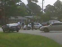 Rocky Mount police are involved in a standoff with a person who is barricaded inside a house at 717 Kinchen Drive.
