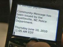 Text messages lead to arrests