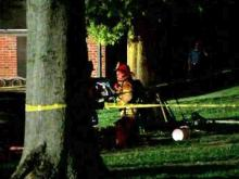 Raleigh fire displaces eight families