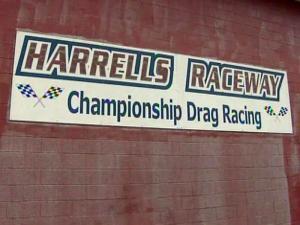 Harrells Raceway is in southern Sampson County.