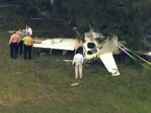 Brother of bombing victim in plane crash