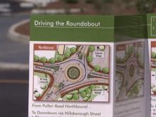7/23/10: Raleigh's new roundabout comes with instructions