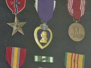 Benny Jackson's received the Purple Heart Medal after he was killed in Vietnam in 1969.