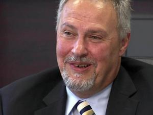 Tom Shaheen, director of the North Carolina Education Lottery, discusses his decision to leave the lottery for the private sector on Aug. 16, 2010.