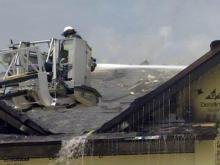 Fire damages barracks under construction at Bragg