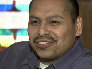Hector Villaneuva is the pastor of the Iglesia Bautista la Roca in Siler City.